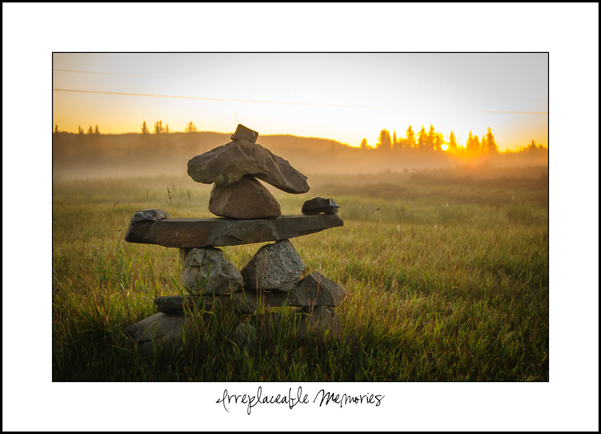 The inuksuk can be found throughout the arctic and are a familiar symbol of the Inuit.