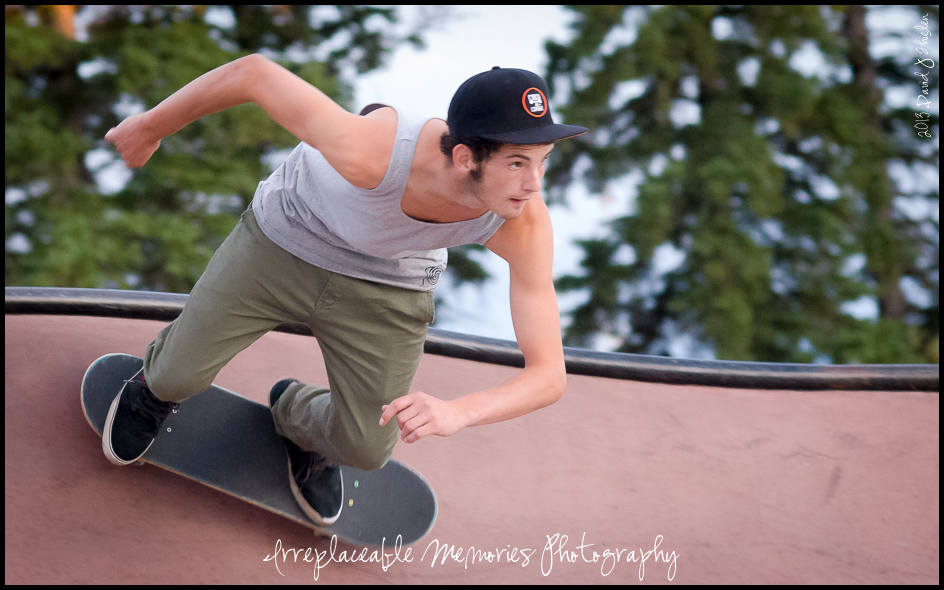 A Day at the Park – Skateboard Park that is